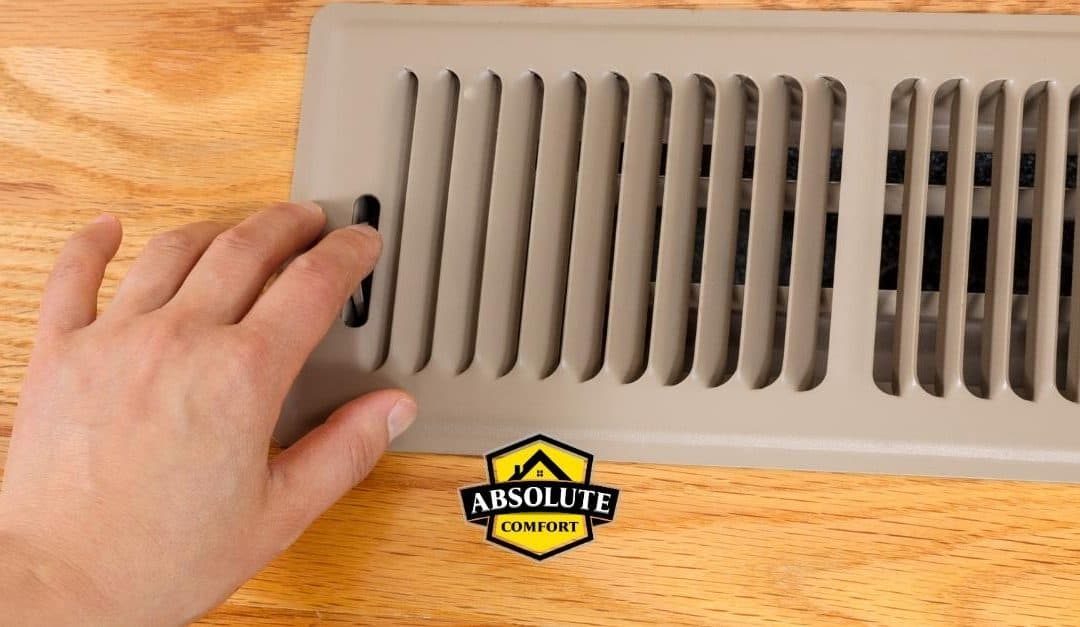 homeowner closing vent to save money