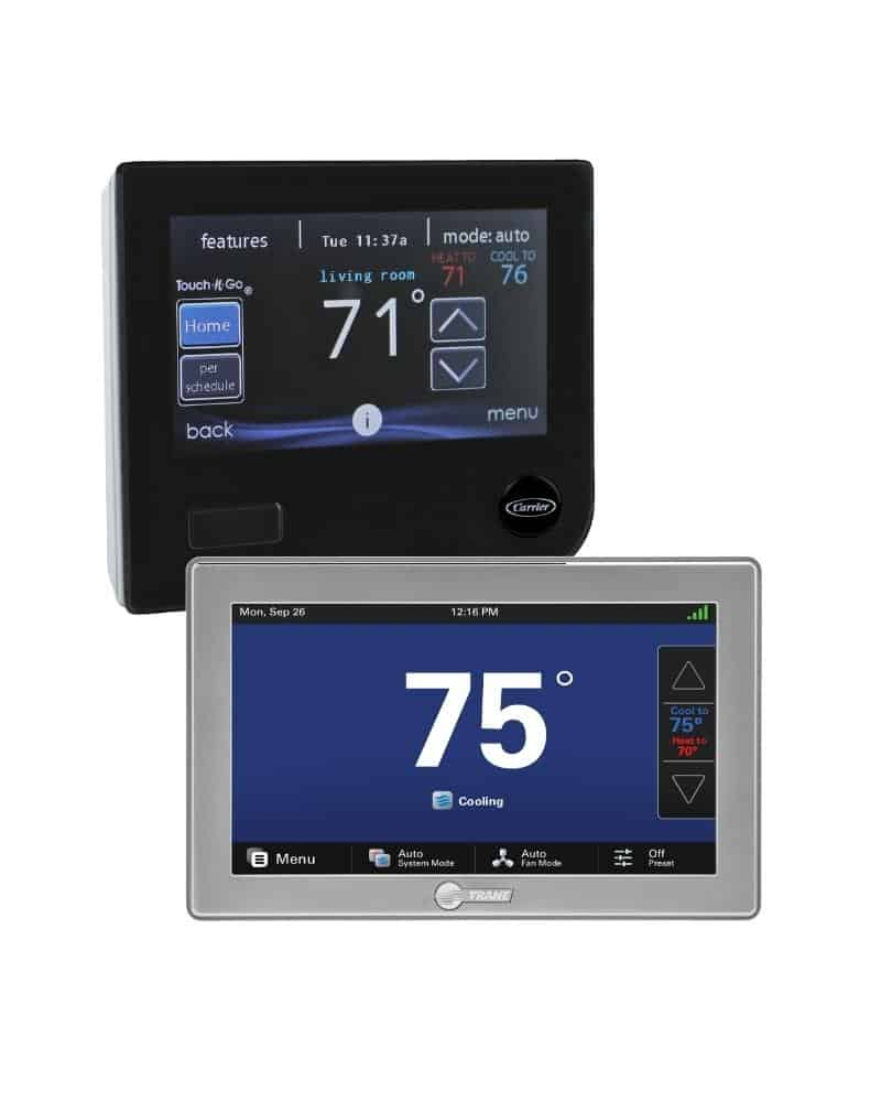 trane carrier smart thermostats in windsor